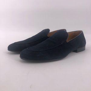 Zara Black Suede Loafers